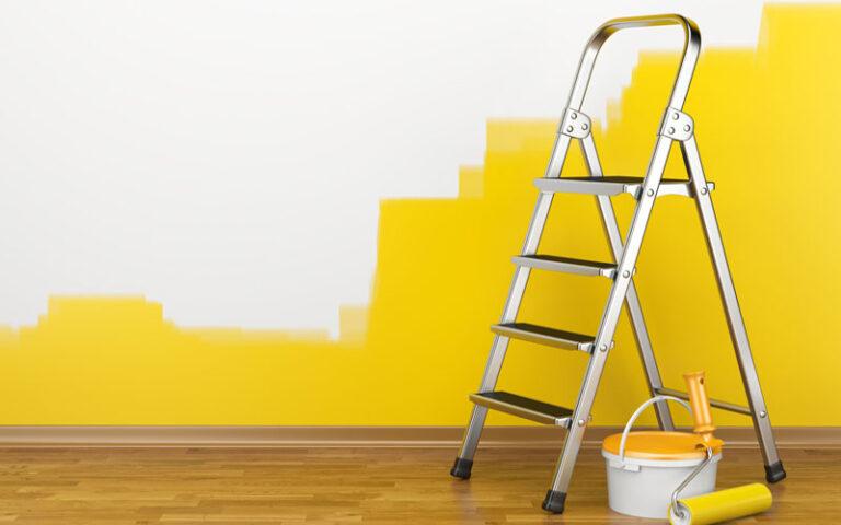 Preparación para pintar paredes